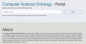 The Open University and Springer Nature launch the Computer Science Ontology